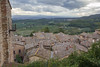 Aerial view from Montepulciano