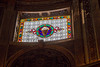 Stained glass window,