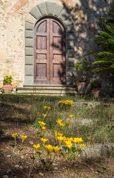 Entrance door, Via del Poggio 10