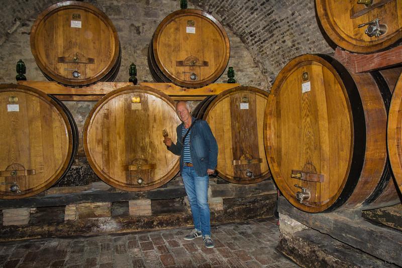 Wine cellar, Vino Nobile di Montepulciano