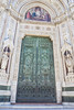 Entrance door of the Duomo
