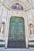 Entrance door of the Duomo