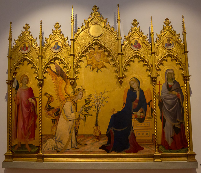 Simone Martini, 1284-1344 and Lippo Memmi, 1317-1337