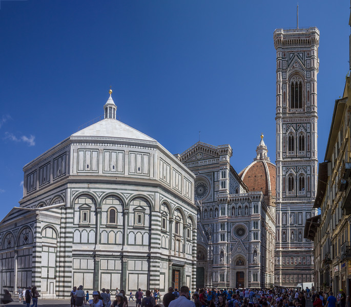 Baptistery of St. John in front