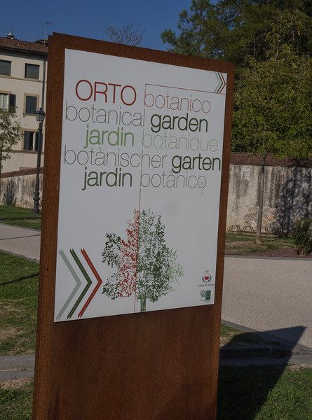 Botanical Garden of Lucca