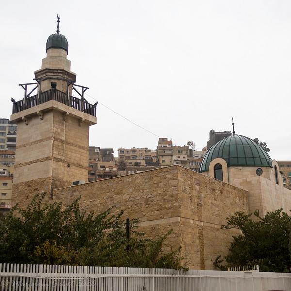 Mosque near the Jordan Museum