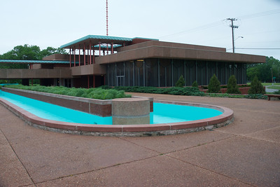 The Corbin Education Center is located on the north side of the WSU campus, designed by Frank Lloyd Wright.