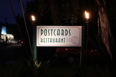 Postcards was a great restaurant near Hanalie.