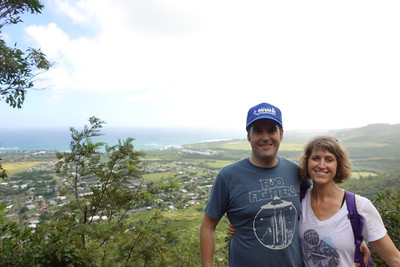 Picture near the top of Sleeping Giant.