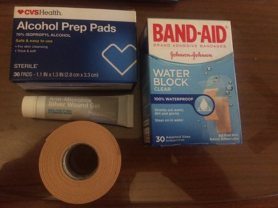 Even more foot care supplies needed for Rich.
