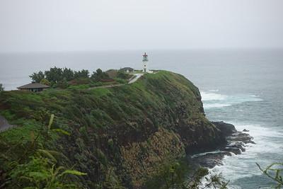 We got pretty close to Kīlauea Lighthouse.