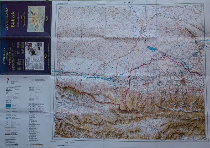 Map Bishkek