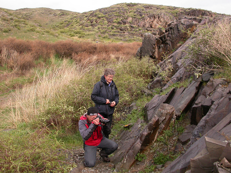 Photographing petroglyphs