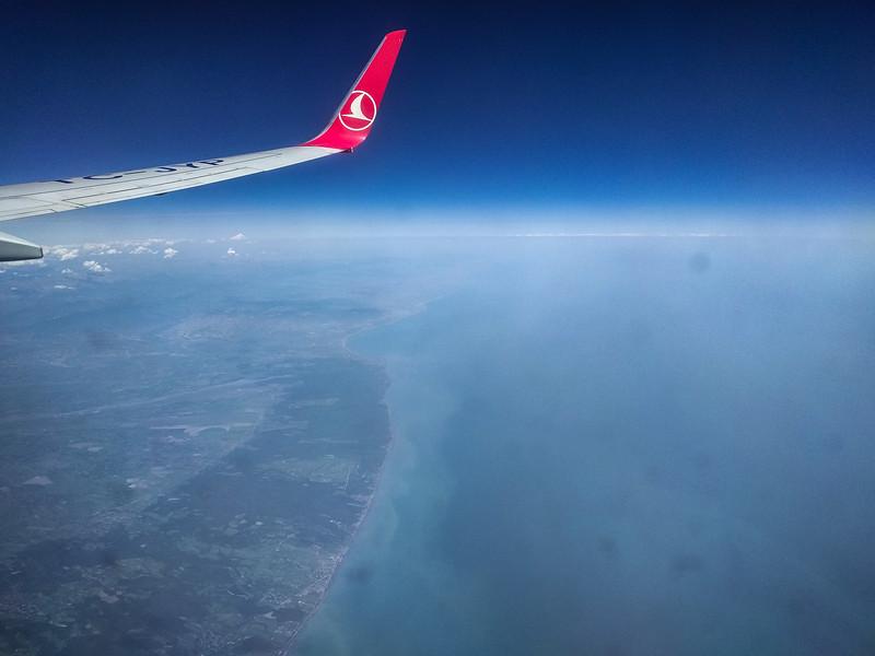 Caspian Sea, Entering South Caucasus, Azerbaijan
