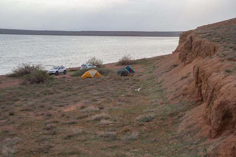 campsite April 22-23th