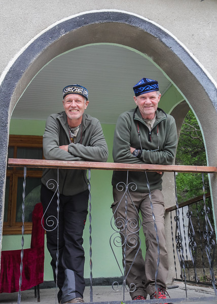 Marijn and Hans visiting Guest house