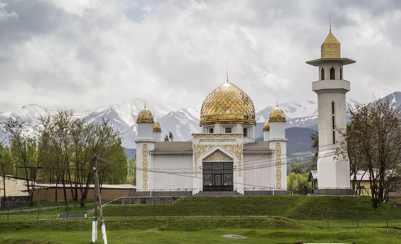 Gold roofed religion building