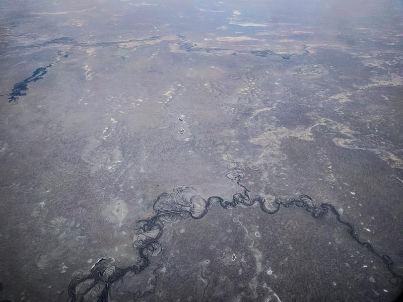 River flows, Kazakhstan