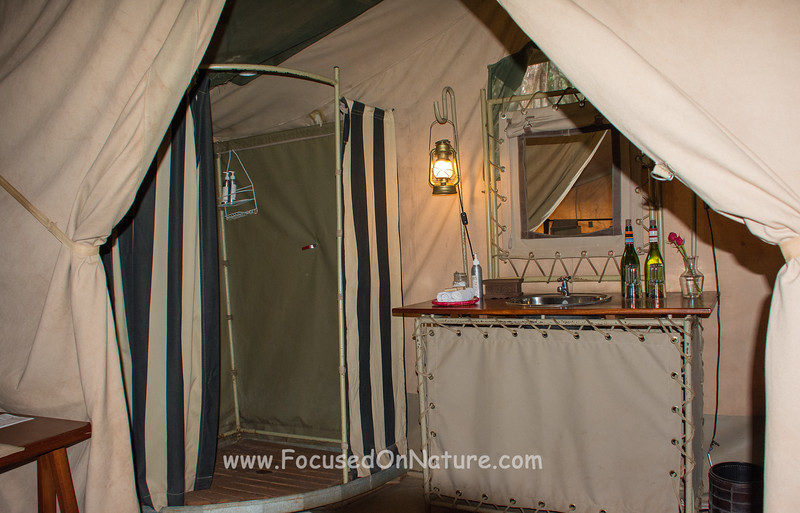 Nairobi Tented Camp Bathroom