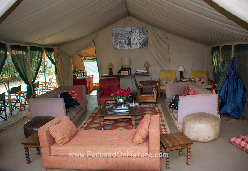Nairobi Tented Camp Lounge Tent