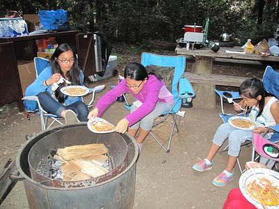 Kids Camping Memorial County 2015