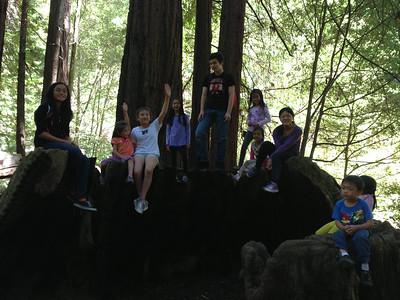 Kids Camping Memorial County 2013