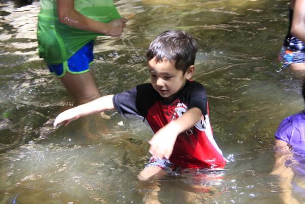 Kids Camping Memorial County 2012