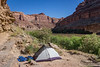 Our campsite at Water Canyon