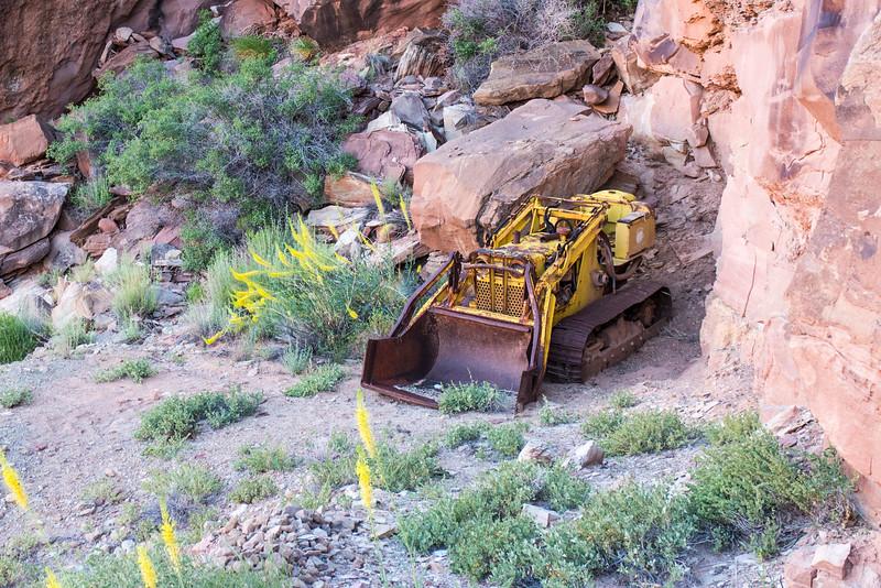 Abandoned Uranium Mining Equipment - Bowknot Bend