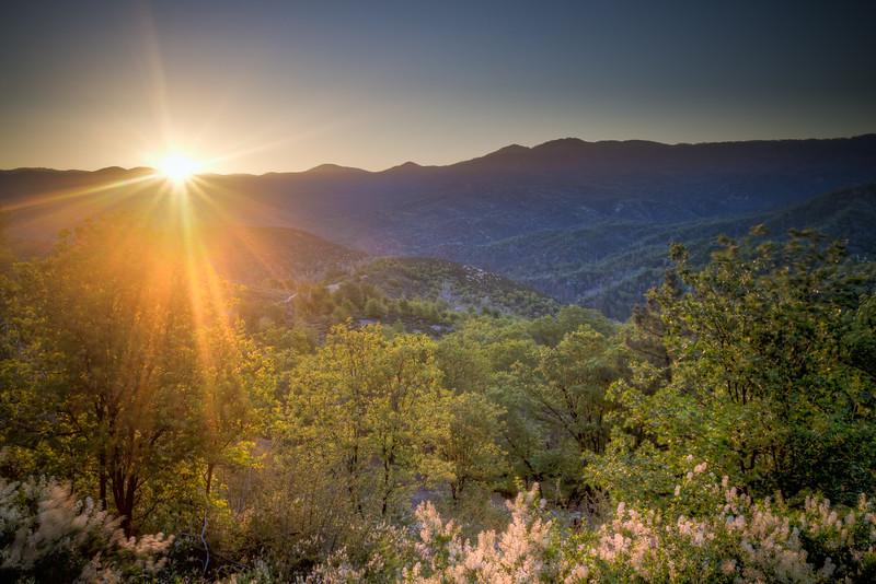 Sunrise Near Little Bear Creek