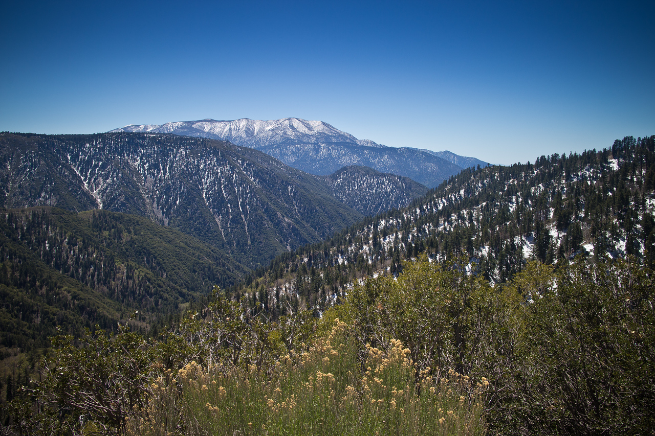 San Gorgonio from Highway 18
