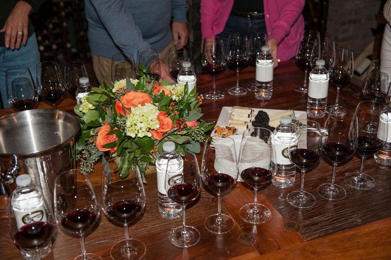 Wine tasting with the wines from Ledera Winery.