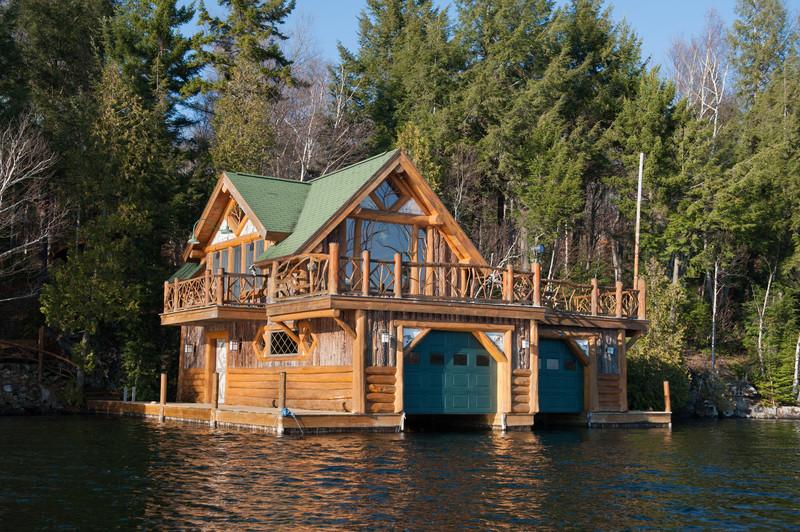 A home on Lake Placid.