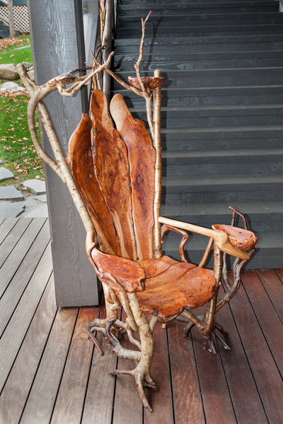 Artisan chair. Way too cool.