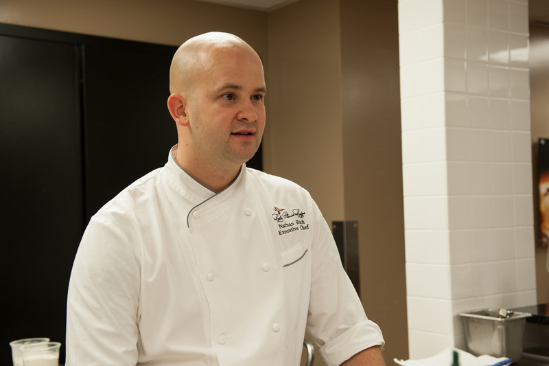 Executive Chef Nathan Rich.