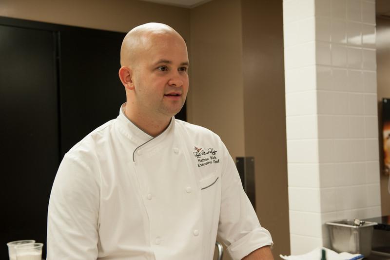 Executive Chef Nathan Rich.