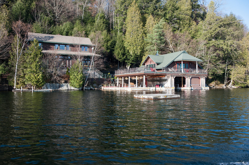 A home on Lake Placid.