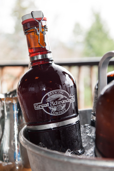 A classic German 'Growler' from the Great Adirondack Brewing Company.