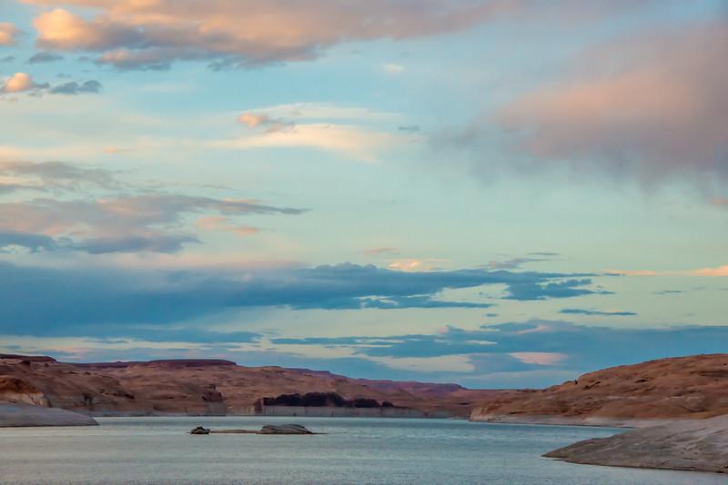 Lake Powell - Evening Sky