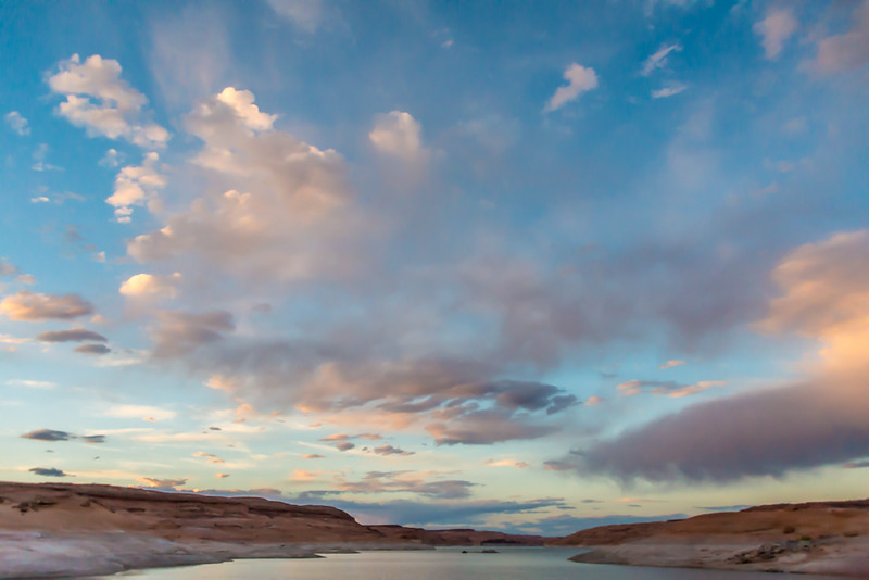 Lake Powell - Painted Sky