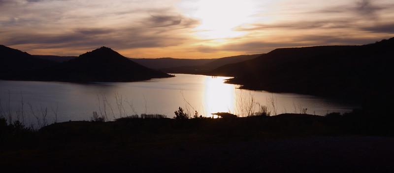 Vue septentrionale du Lac du Salagou