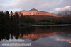 Late sun on Chaos Crags reflected in Manzanita Lake (9/5/2009)