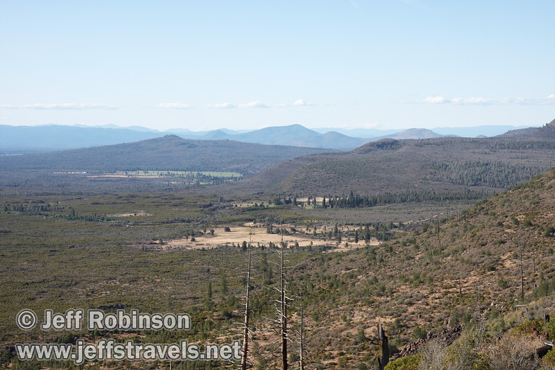 Northerly view from the rim (9/6/2009, Hat Creek Rim hike, Pacific Crest Trail near 44/89 junction)