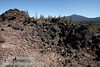 Lava of a spatter cone past marker 11 (9/8/2009, Spatter Cones Nature Trail, Lassen NF)