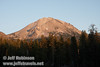 Late sun on Lassen Peak (9/8/2009, Reflection Lake, Lassen NP)
