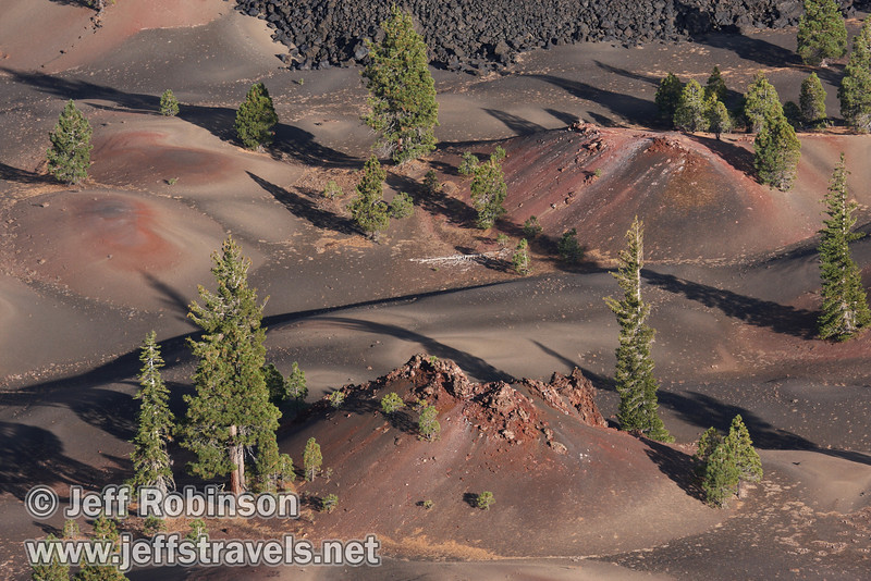 Close up of the Painted Dunes (9/11/2009, Cinder Cone hike, Lassen NP)