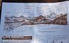 Peak identifier from the Cinder Cone Nature Trail brochure. (9/11/2009, Cinder Cone hike, Lassen NP)