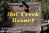 Sign for Hat Creek Resort (9/8/2009, Hat Creek Resort & RV Park, Lassen NF)