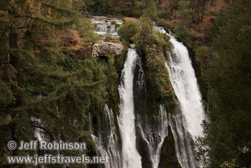 Burney Falls, seen from the viewpoint near the parking lot(9/9/2009, Burney Falls SP)