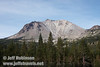 Lassen Peak, seen from the parking lot for the Devastated Area (9/10/2009, Lassen NP)